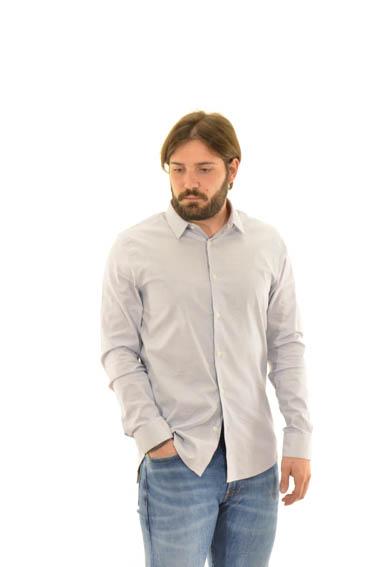 the best attitude 6f795 829c9 camicie CALVIN KLEIN J30J309428497 AZZURRO